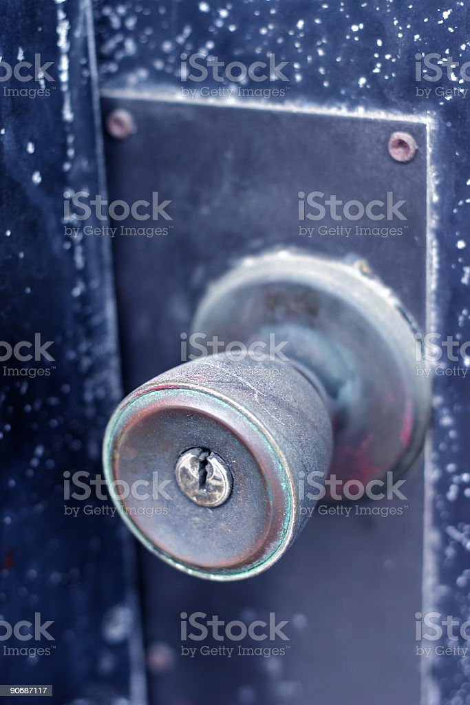 Handle This royalty-free stock photo
