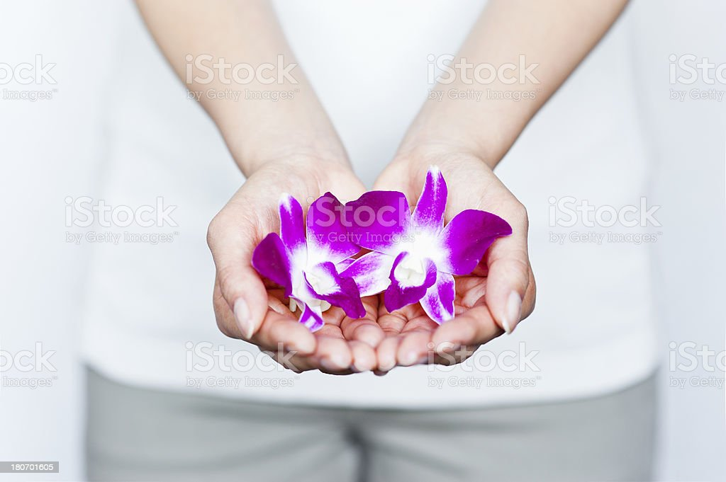 Handle with care royalty-free stock photo