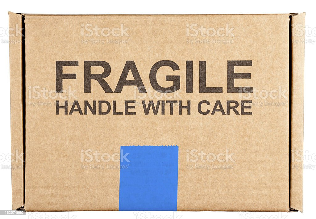 Handle with care stock photo