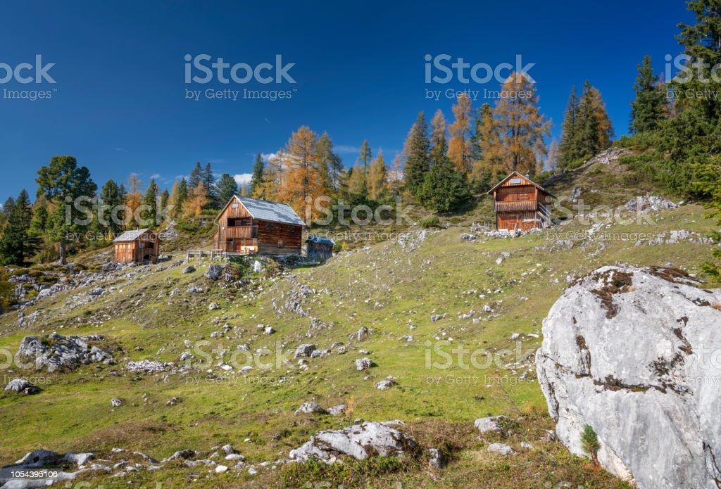 Handleralm, Zinken, Bad Aussee, Salzkammergut, Ausseerland, Österreich, Österreichische Alpen – Foto