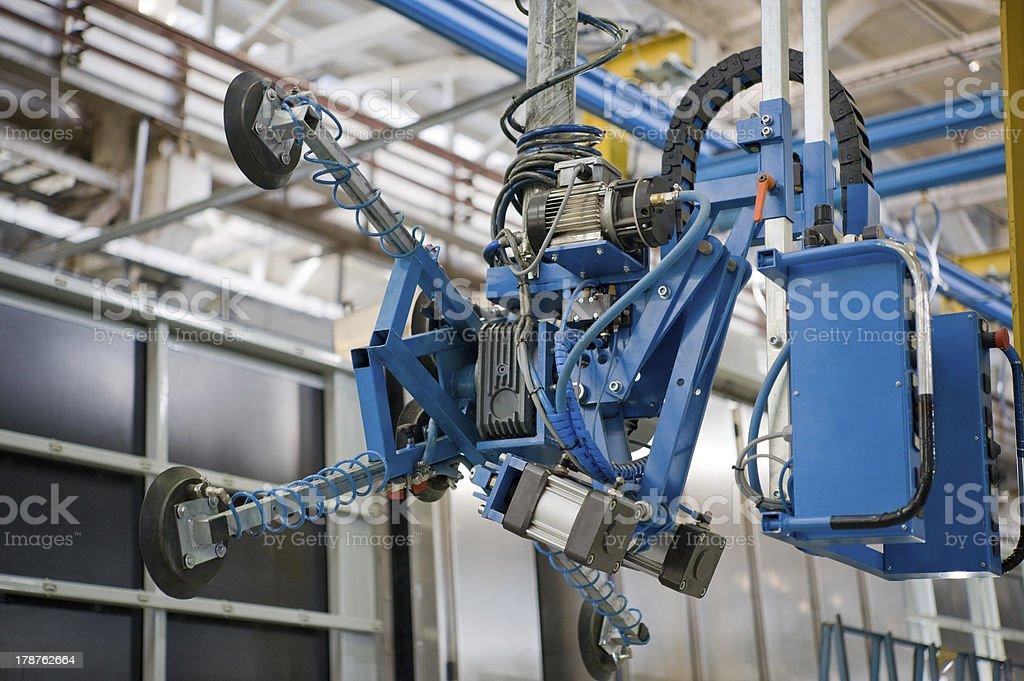 Handling equipment stock photo