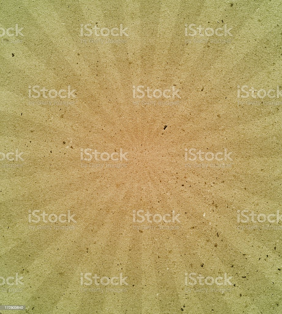 handmade art paper with starburst royalty-free stock photo