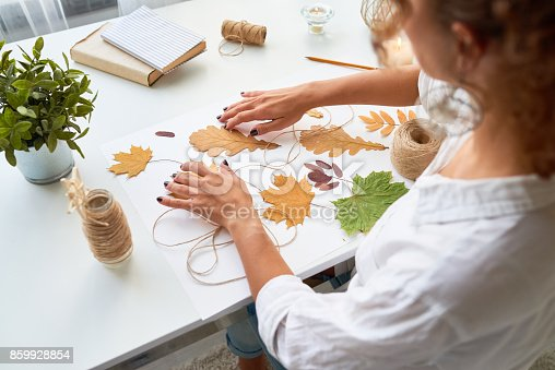istock Handmade Autumn Crafts 859928854