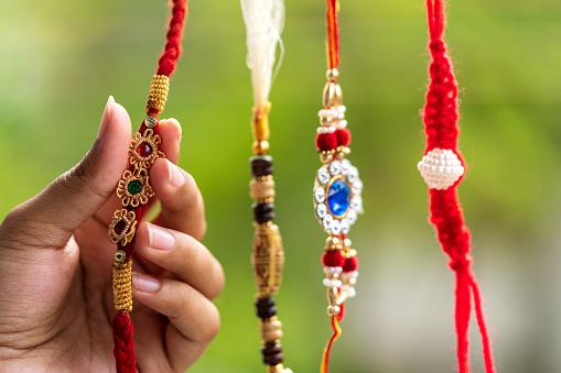 istock Handmade Beautiful Rakhi 1166848435