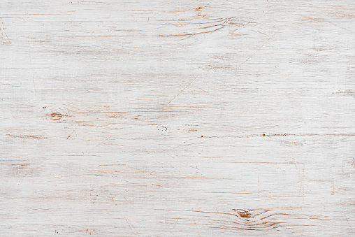 Handmade bleached wooden texture background, horizontally oriented image