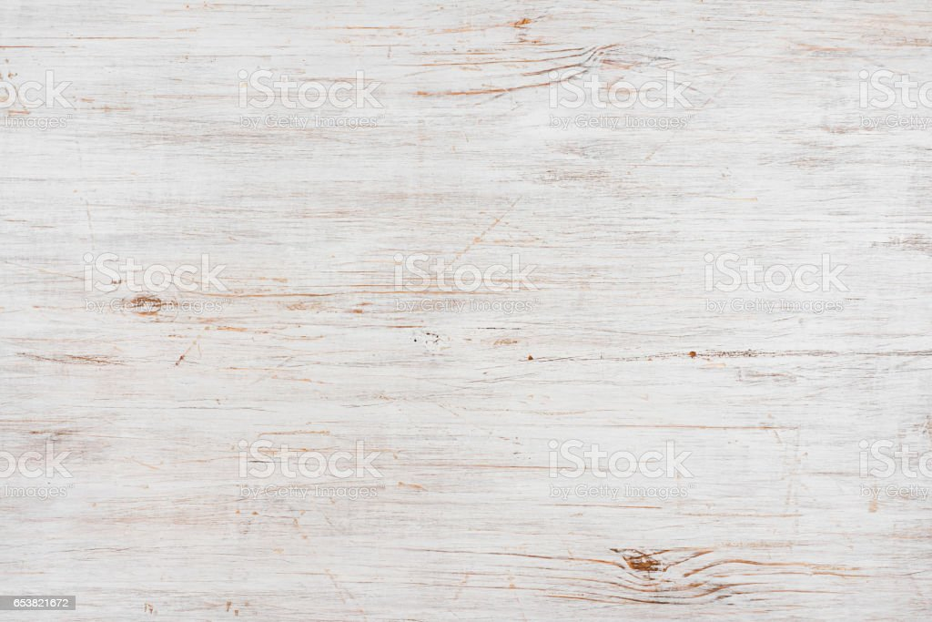 Handmade bleached wooden texture background, horizontally oriented image stock photo