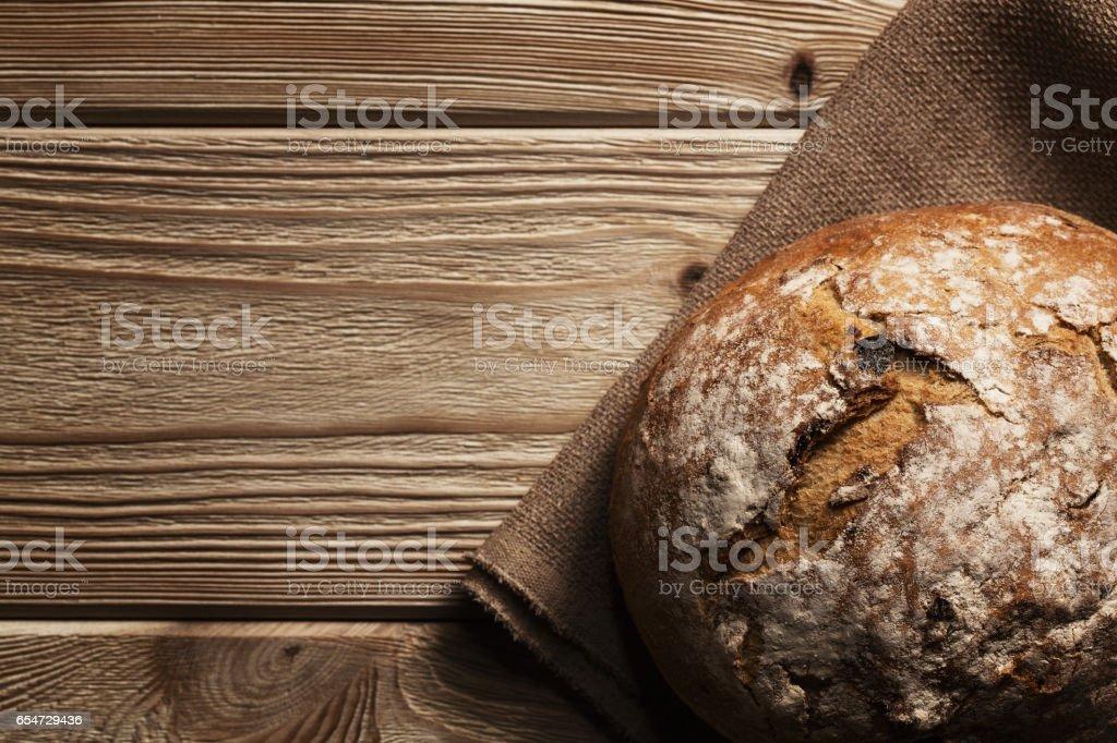 Handmade bread stock photo