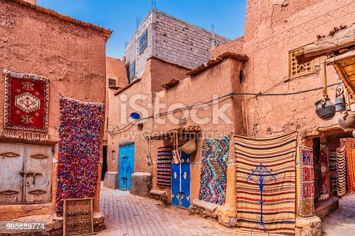 Handmade carpets and rugs in Morocco