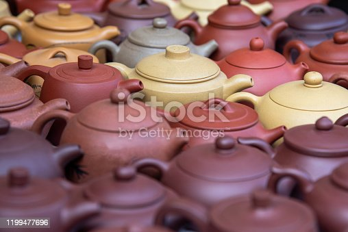 Beautiful handmade ceramic teapots for sale on am amtique market