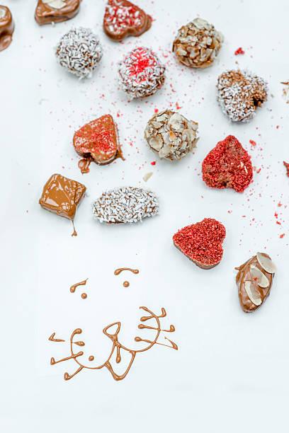cioccolatini artigianali - sugar cane foto e immagini stock