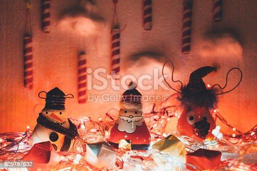 527392693 istock photo Handmade Christmas decoration 629787632