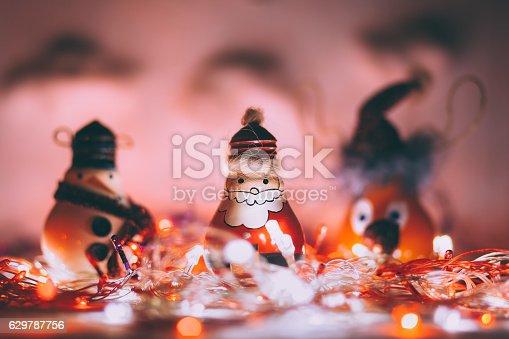 527392693 istock photo Handmade Christmas decoration 629787756