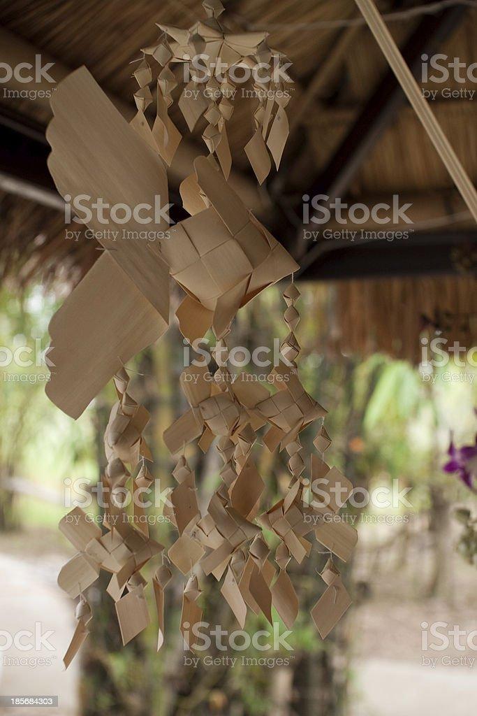 Handmade crafts of carp Thailand royalty-free stock photo