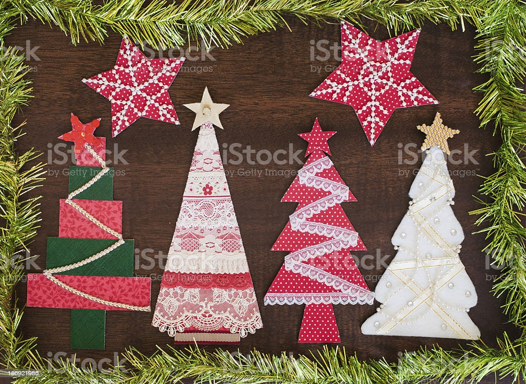 Handmade Fabric Christmas Tree Stock Photo Download Image Now Istock