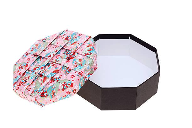 handmade gift box stock photo