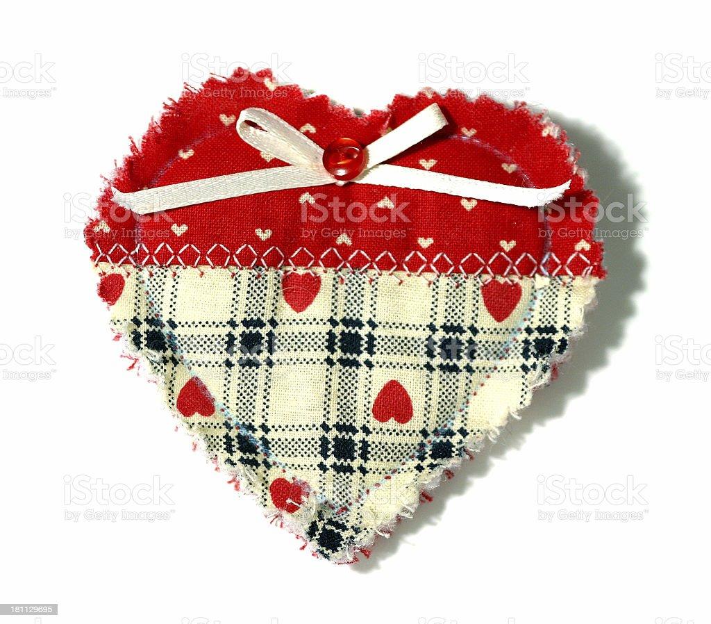 Handmade heart royalty-free stock photo