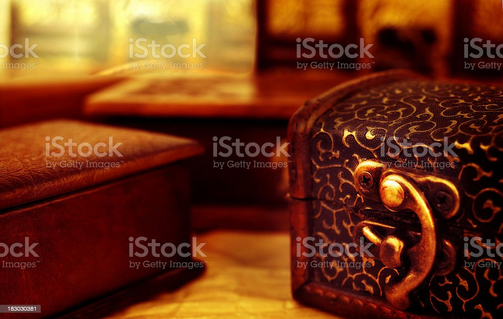 Handmade Jewelry Box Setup Stock Photo More Pictures Of Antique