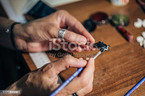 istock Handmade jewelry 1171899961