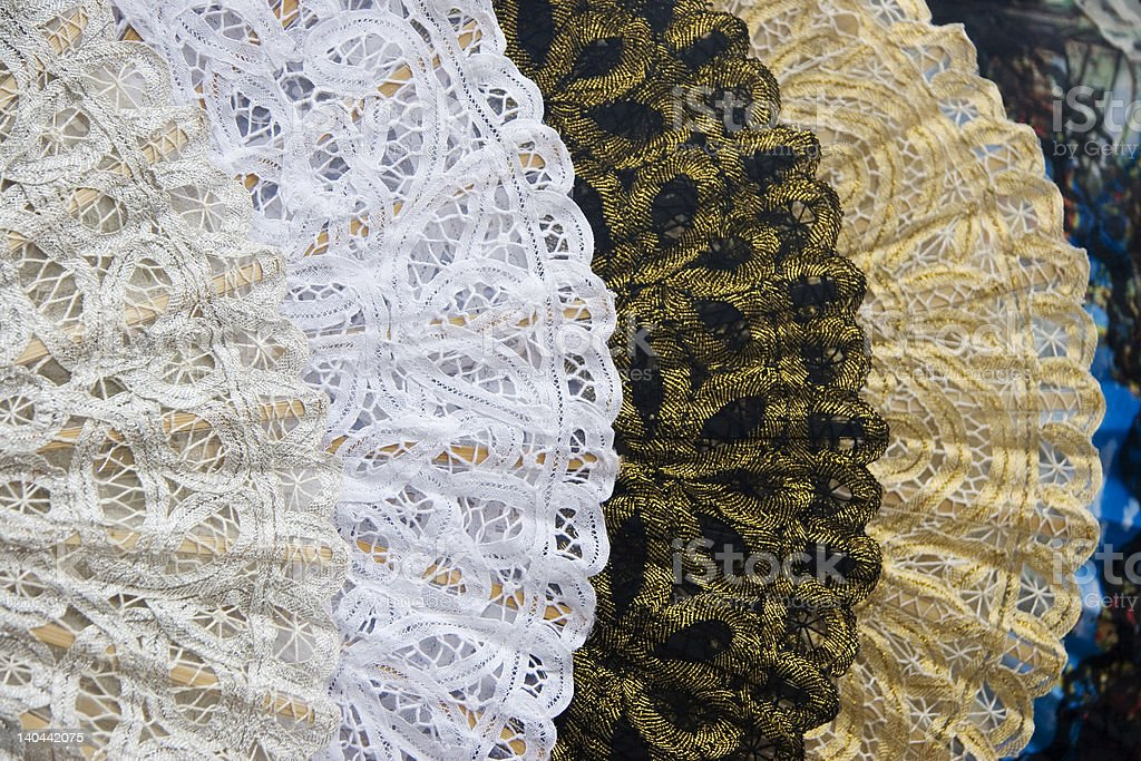 Handmade Lace royalty-free stock photo