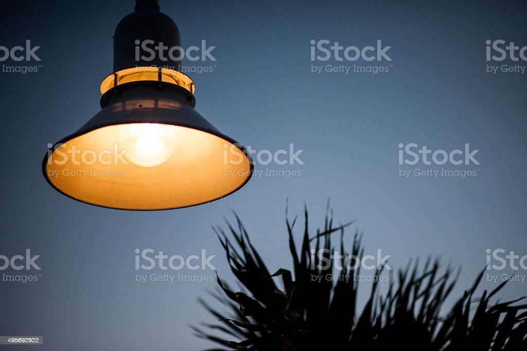 Handmade lamp Key West Florida USA stock photo