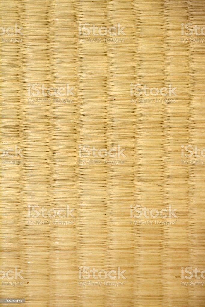 Handmade Mat,Woven mats made of grass stock photo