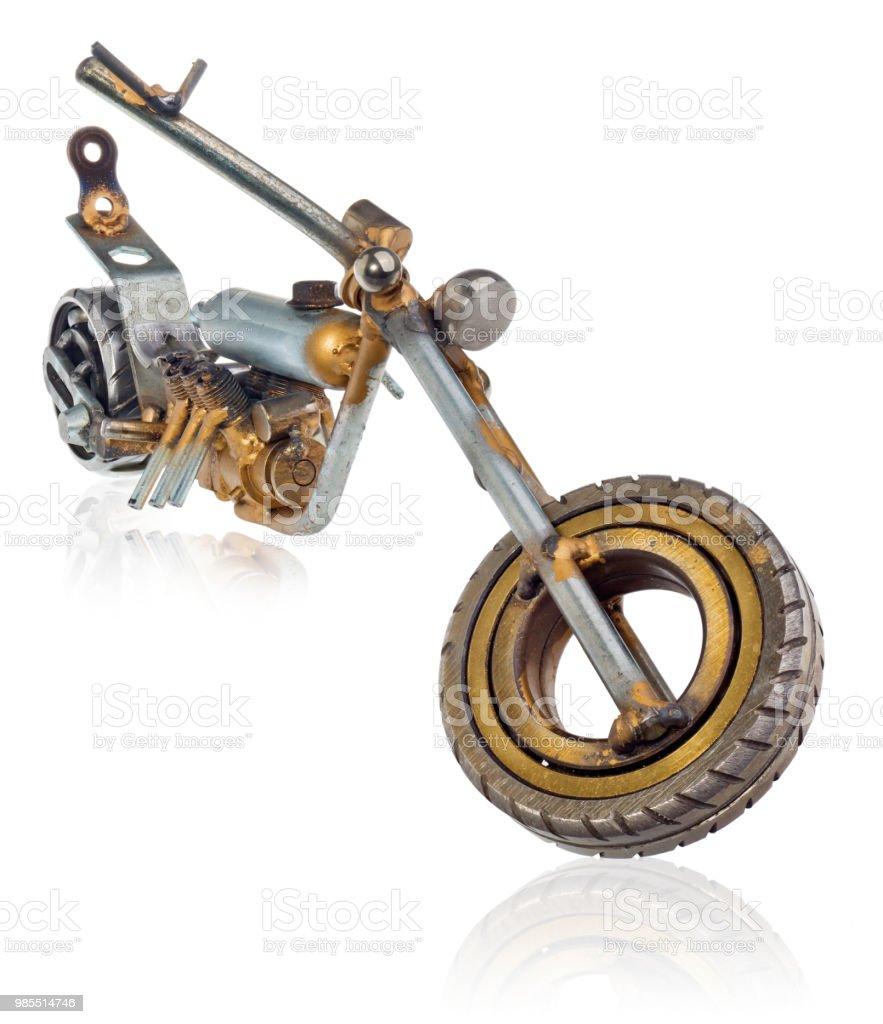 Droit Chopper Miniature Dune De Photo Moto La Libre Main qzLUGVjSMp