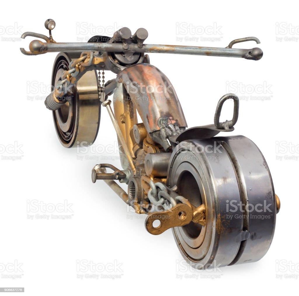el yapimi motosiklet helikopter olusan metal parcalar rulmanlar stubokretow mum motor teller zincirler kruvazor stok fotograflar araba motorlu tasit nin daha fazla resimleri istock
