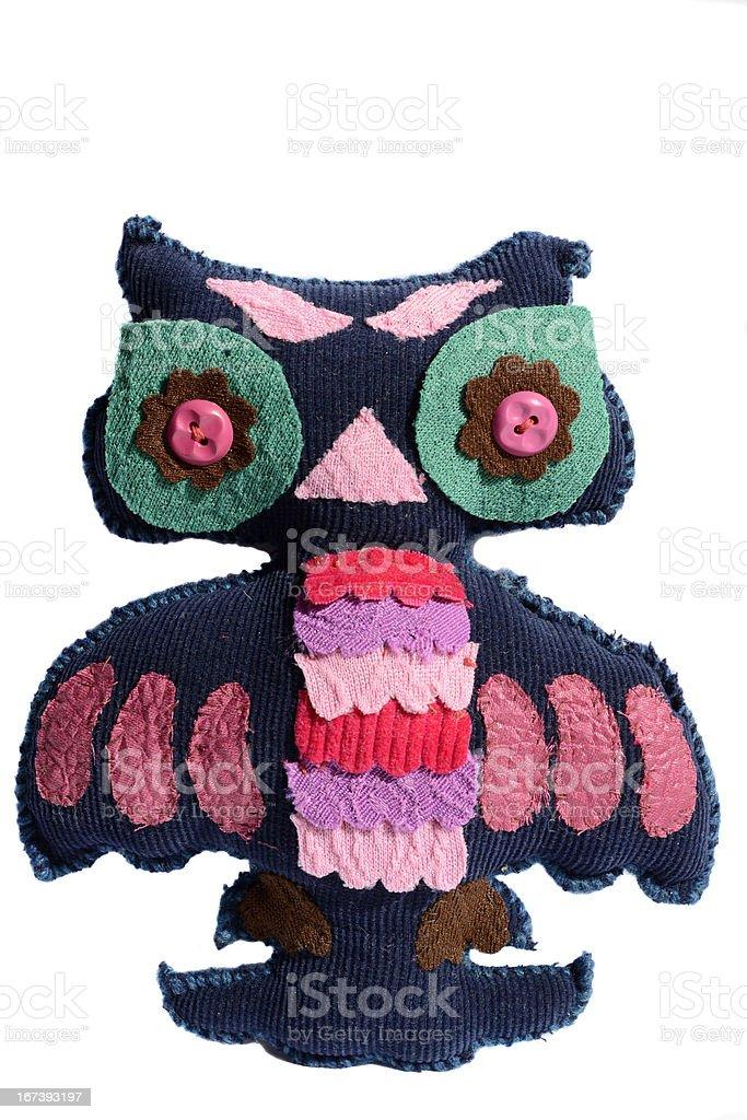 handmade owl royalty-free stock photo