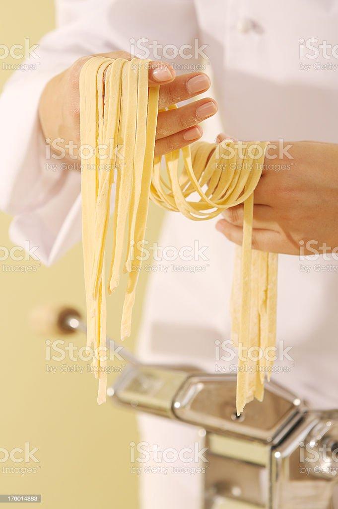 Handmade Pasta stock photo