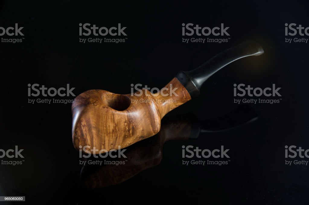 Handmade pipe royalty-free stock photo