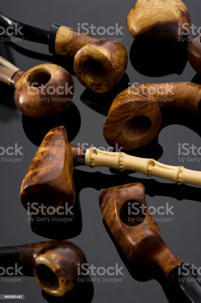Handmade pipe royalty-free stock photo