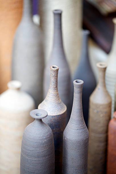 Handgefertigte Töpfe – Foto