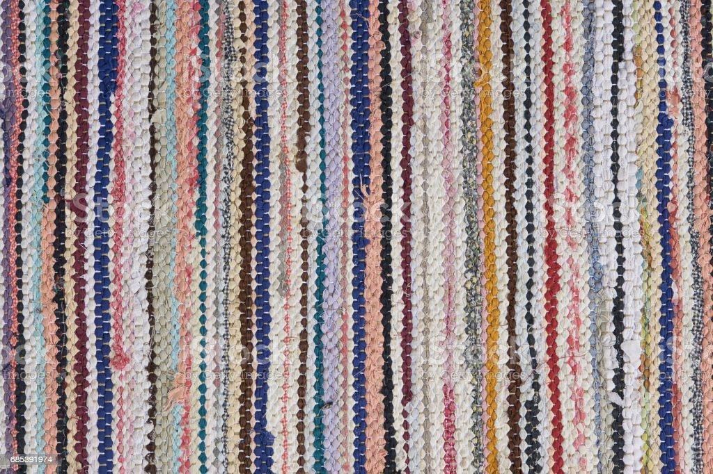 handmade rag rug foto de stock royalty-free