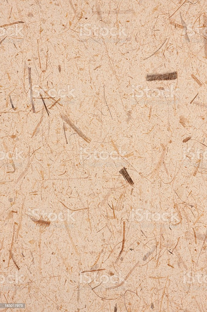 Handmade recycled paper background. royalty-free stock photo