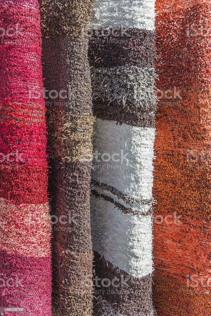 Handmade rugs of Las Alpujarras royalty-free stock photo
