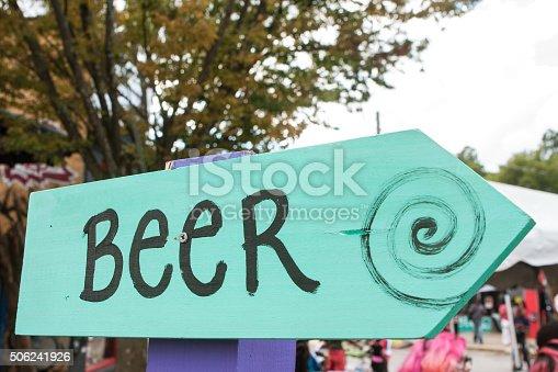 istock Handmade Sign Says