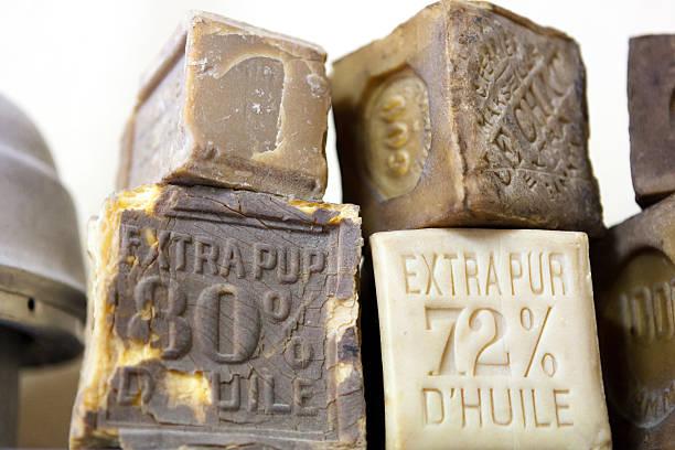 Handmade Soap from Marseille stock photo