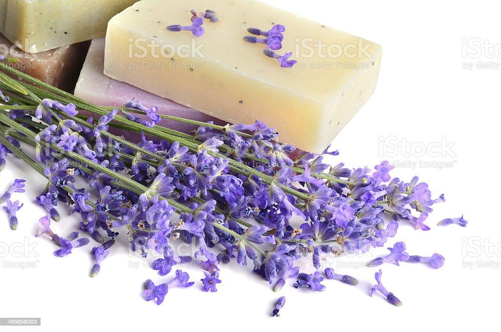 Handmade soaps royalty-free stock photo