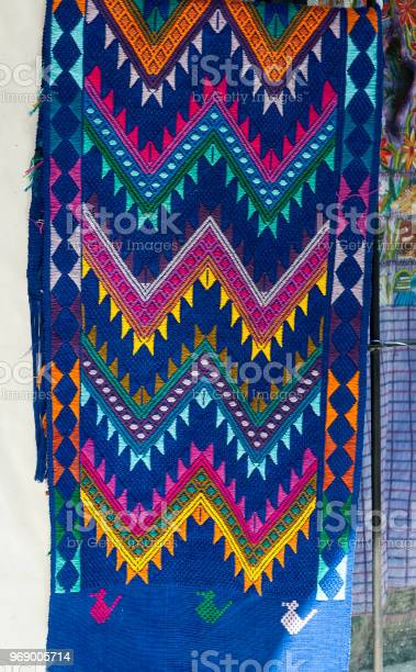 Handmade traditional guatemalan design, central America.