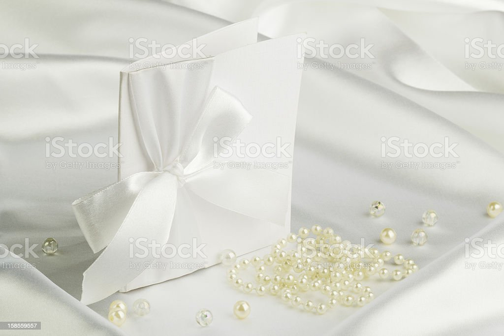 수제 웨딩 카드 royalty-free 스톡 사진