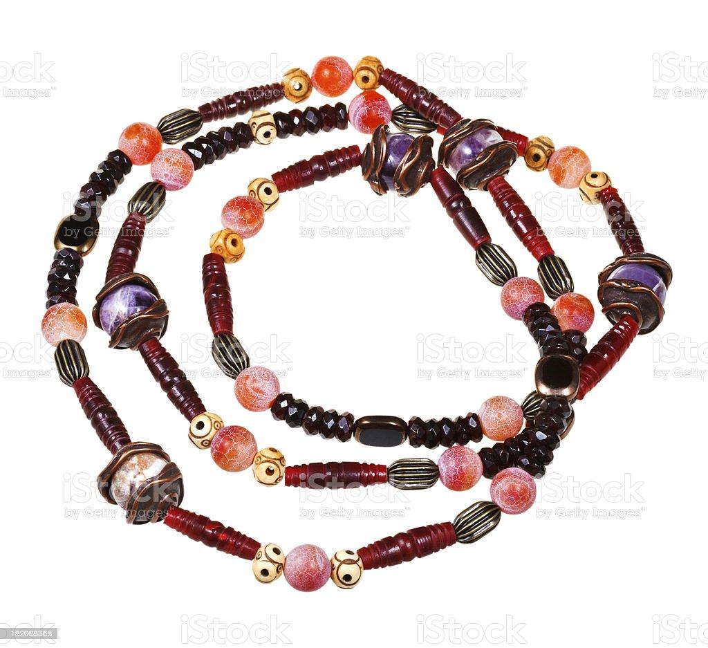 handmade women necklace royalty-free stock photo