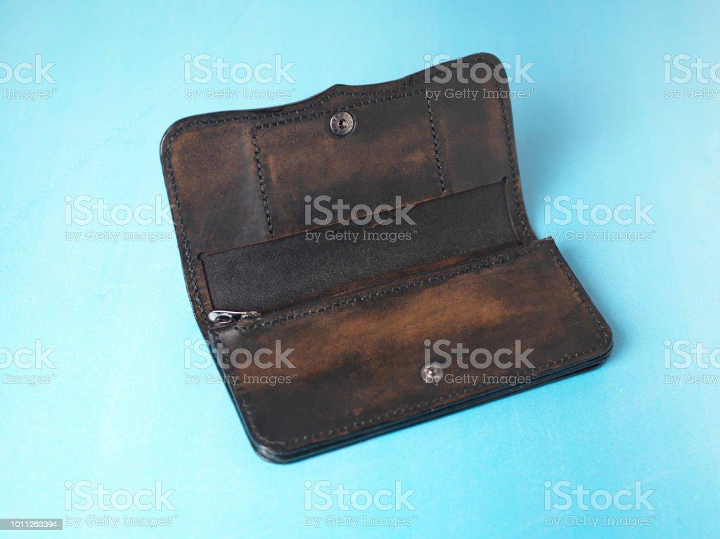 Handmade women wallet by geninue cow leather