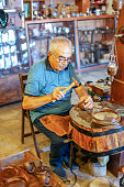 Handmade Workshop Worker Portrait