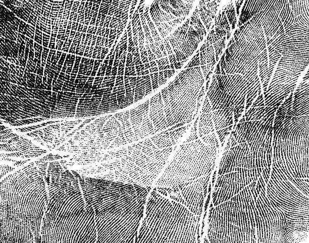 Impressão da mão, como plano de fundo - foto de acervo