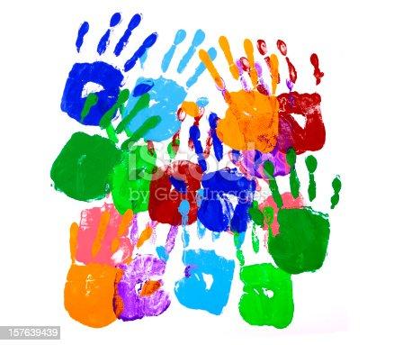 istock Handprints 157639439