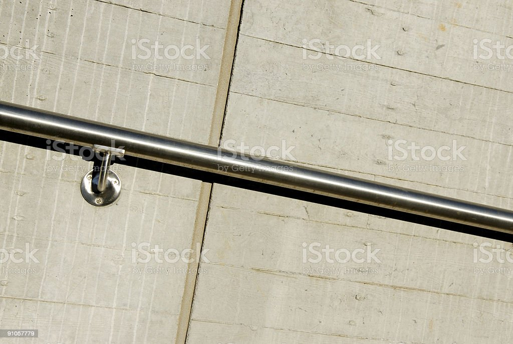 Handrail royalty-free stock photo