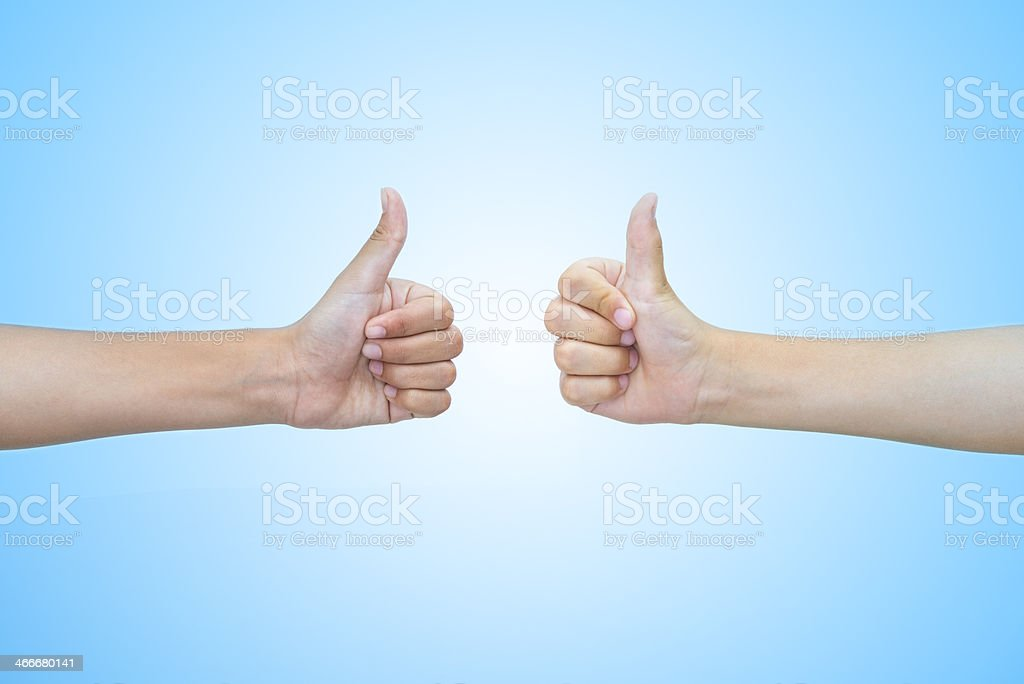 Hands and concepts: all right royalty-free stock photo