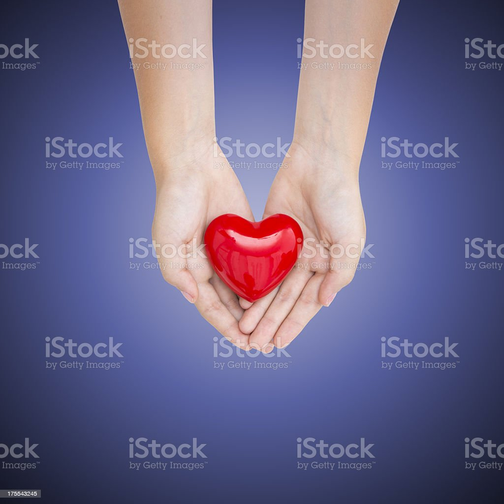 Hands and concepts: love royalty-free stock photo