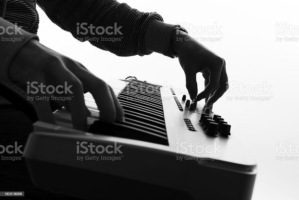 Hände und midikey – Foto