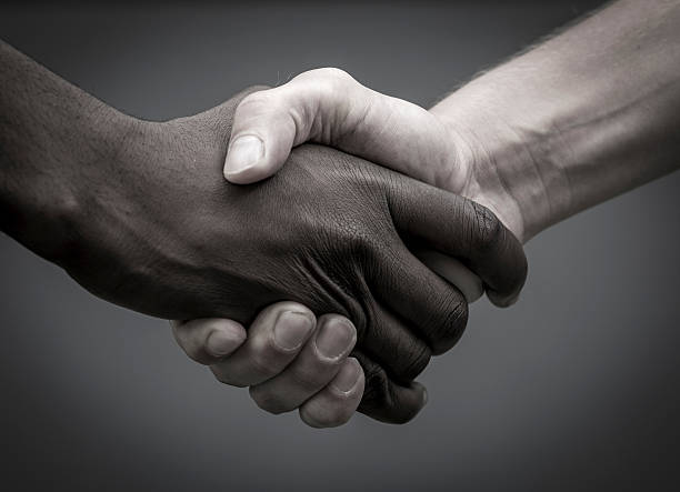 hands, black and white, stock photo